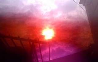 Sol vermell