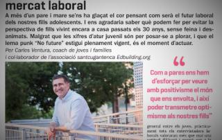 Joves i mercat laboral, Carles Ventura, Coach